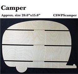 Clear Scraps  Camper DIY Pallet Shape