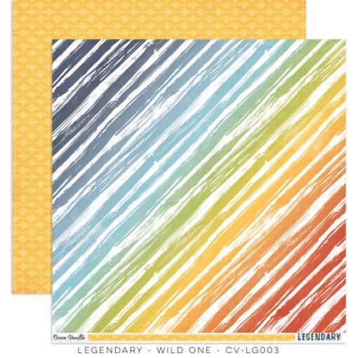 Cocoa Vanilla Studio: LEGENDARY Wild One Double-Sided 12x12 designer paper