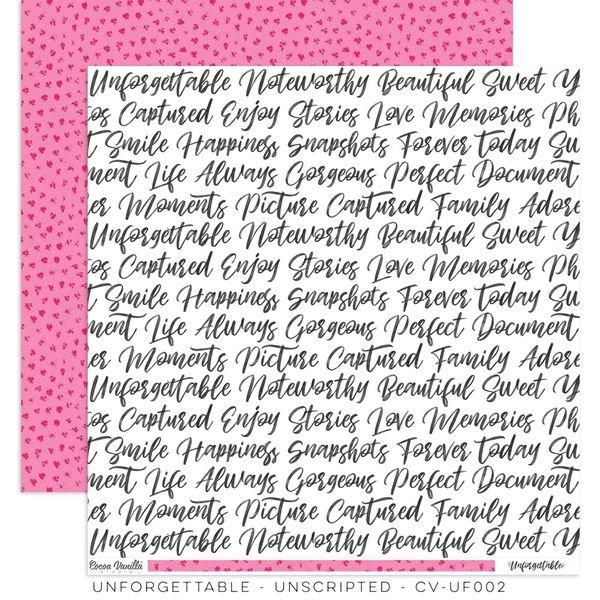Cocoa Vanilla Studio: Unforgettable Unscripted Paper