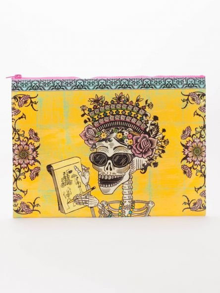 Blue Q: JUMBO POUCH- DAY OF THE DEAD