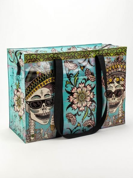 Blue Q:  SHOULDER TOTE- Day of the Dead