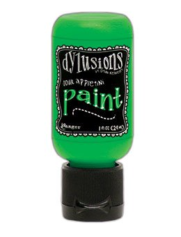 Dylusions Acrylic Paint 1oz Sour Appletini
