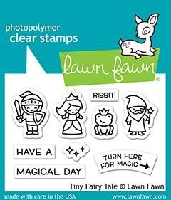 Lawn Fawn Clear Stamps 3X2 Tiny Fairy Tale