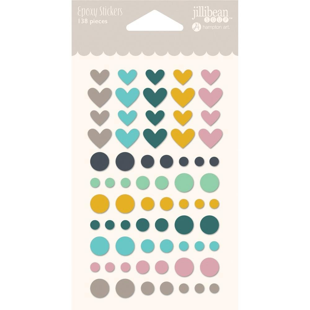 Spoonful Of Soul Epoxy Stickers 138/Pkg