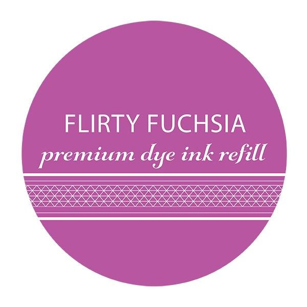 Catherine Pooler Ink Pad Refill Flirty Fuchsia