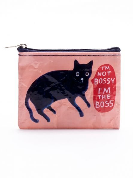 Blue Q:  COIN PURSE-I'm Not Bossy