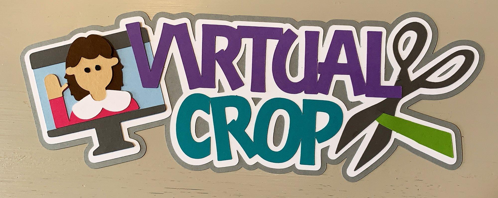 Virtual Crop  Custom Die-cut
