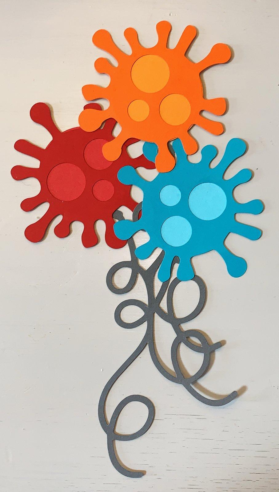 Quarantine Balloons  Custom Die-cut