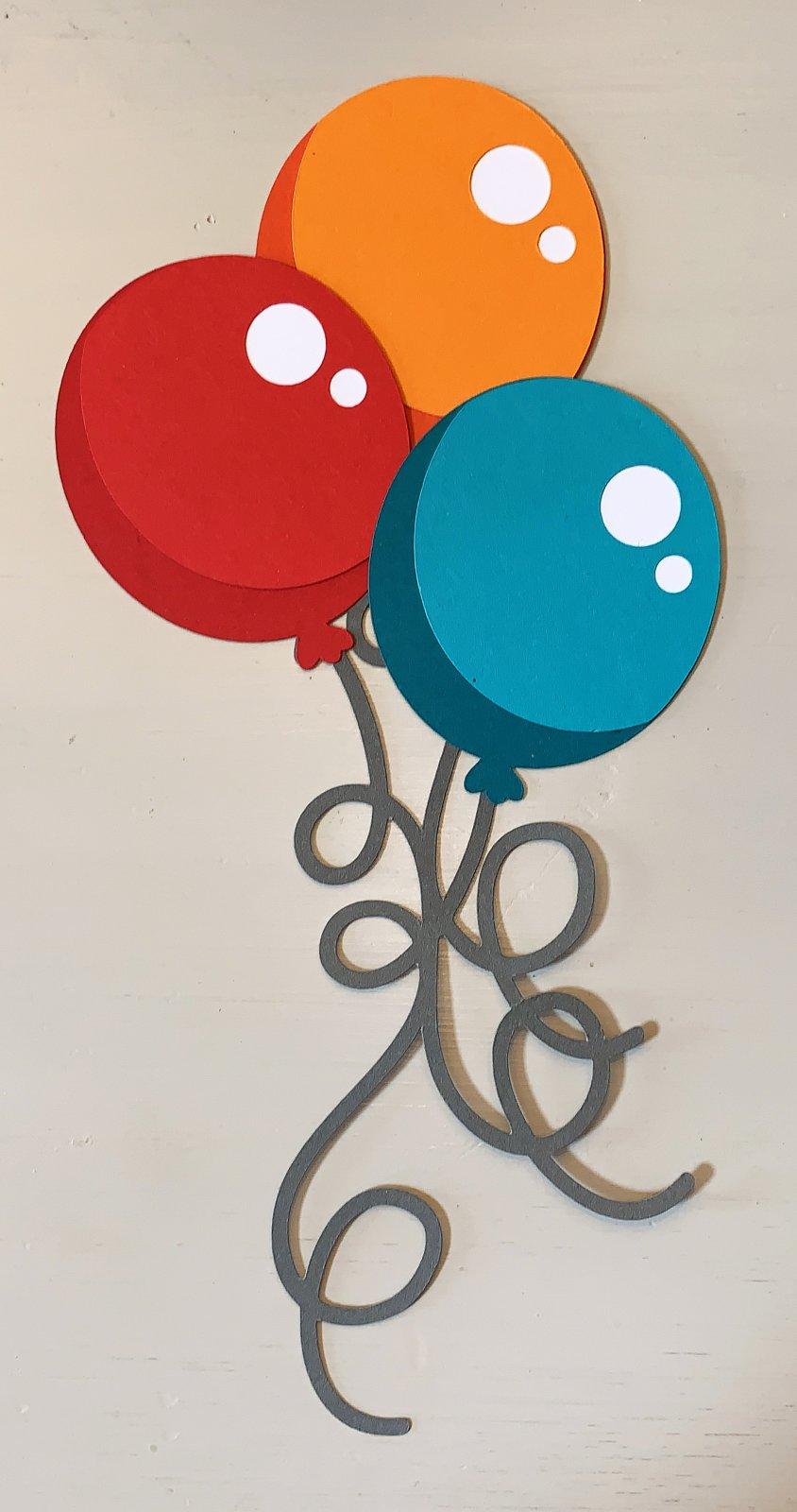 Balloons  Custom Die-cut