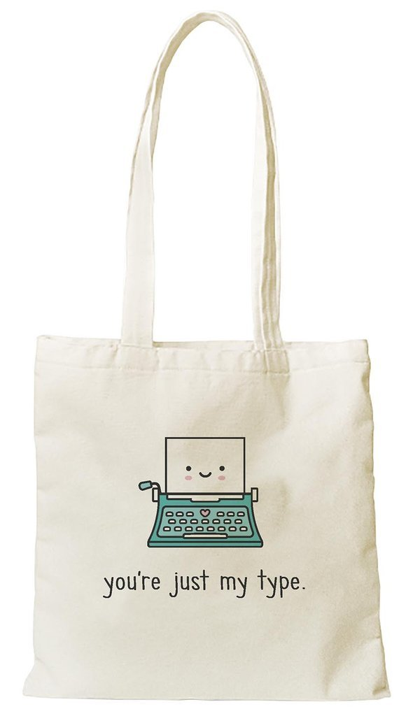 Lawn Fawn Tote-You're Just My Type