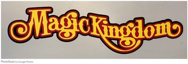 Just Add Photos- Magic Kingdom (Black, Red, Yellow)