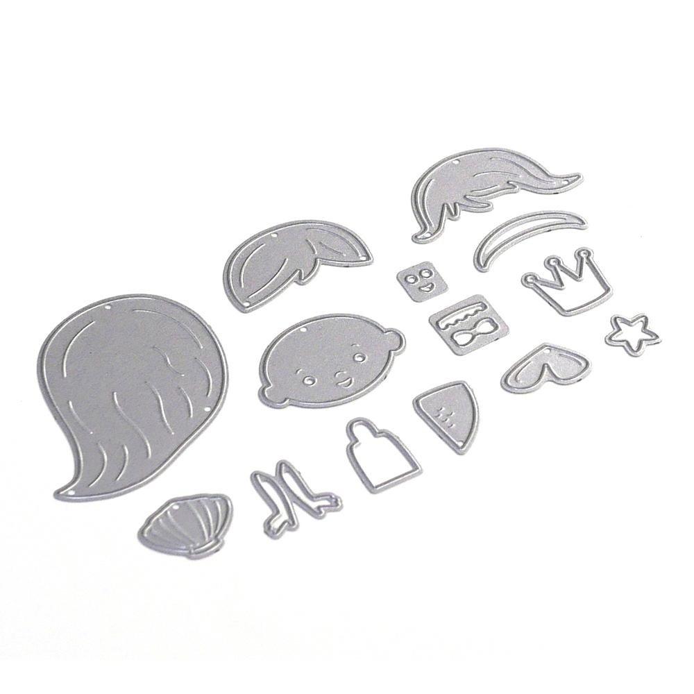 Elizabeth Craft Metal Die Sand Crab 810003532350