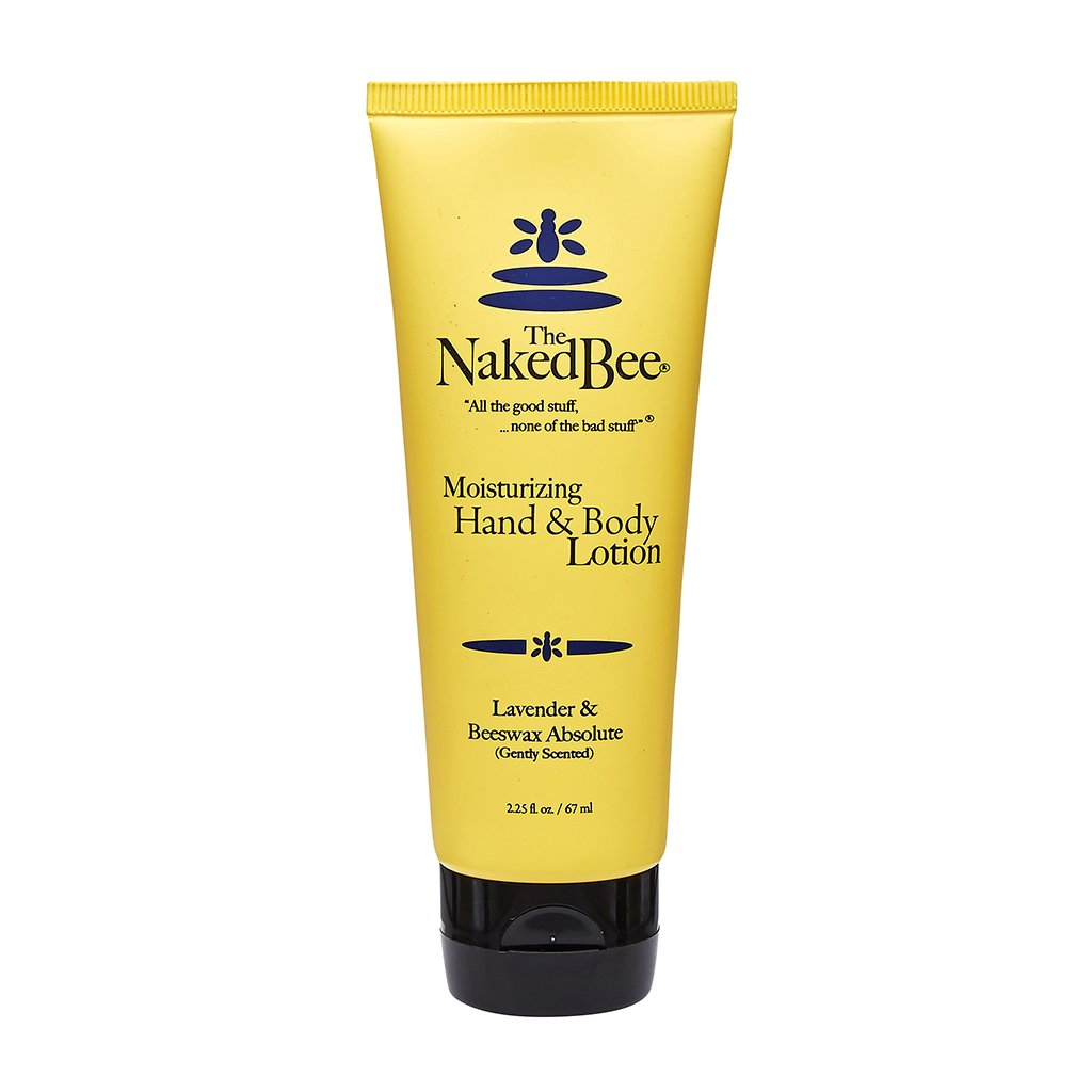 Naked Bee: 2.25 oz. Lavender & Beeswax Absolute Hand & Body Lotion
