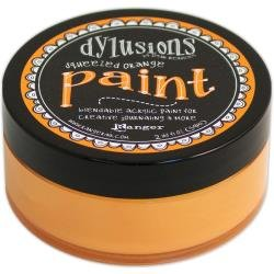 DYLUSIONS PAINT: Squeezed Orange
