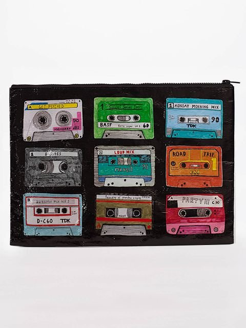 Blue Q: JUMBO POUCH-Mix Tape
