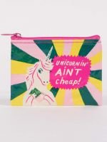 Blue Q Coin Purse Unicornin' Ain't Cheap