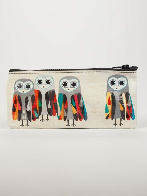 Blue Q:  PENCIL CASE-Hoo's Next