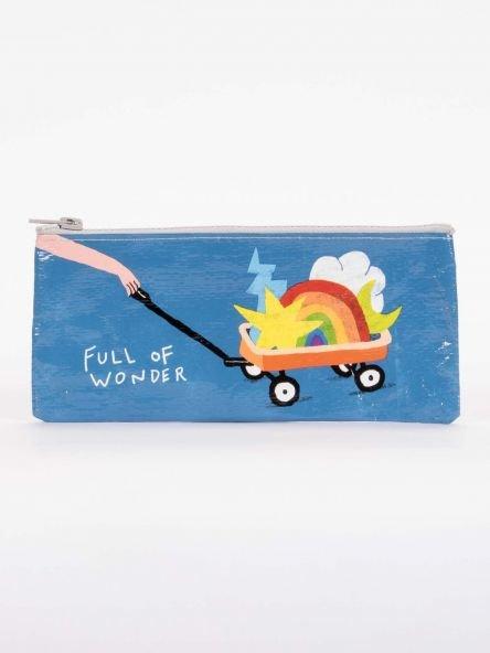 Blue Q:  PENCIL CASE-Full Of Wonder