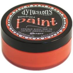 DYLUSIONS PAINT: Postbox Red