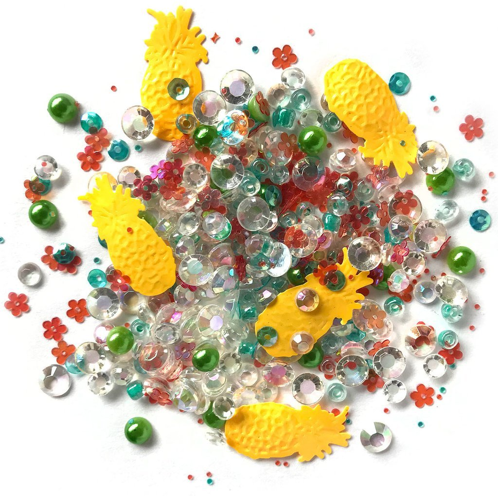 BG&M: Sparkletz Embellishments Tropical Delight