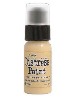 Tim Holtz Distress Paint Dabber 1oz Scattered Straw