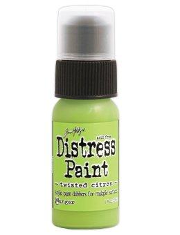 Tim Holtz Distress Paint Dabber 1oz Twisted Citron