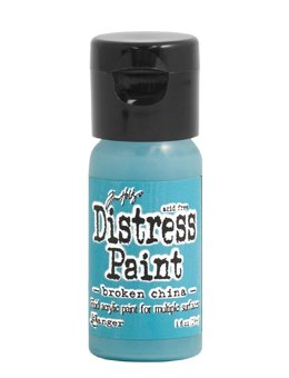 Tim Holtz Distress Paint Flip Top 1oz Broken China