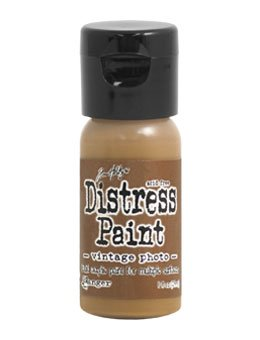 Tim Holtz Distress Paint Flip Top 1oz Vintage Photo