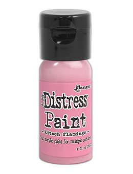 Tim Holtz Distress Paint Flip Top- Kitsch Flamingo