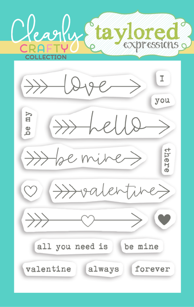 TAYLORED Expressions Stamps: Follow Your Heart Sentiments