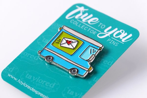 TAYLORED Expressions Collector Pin-True To You- Mail Truck