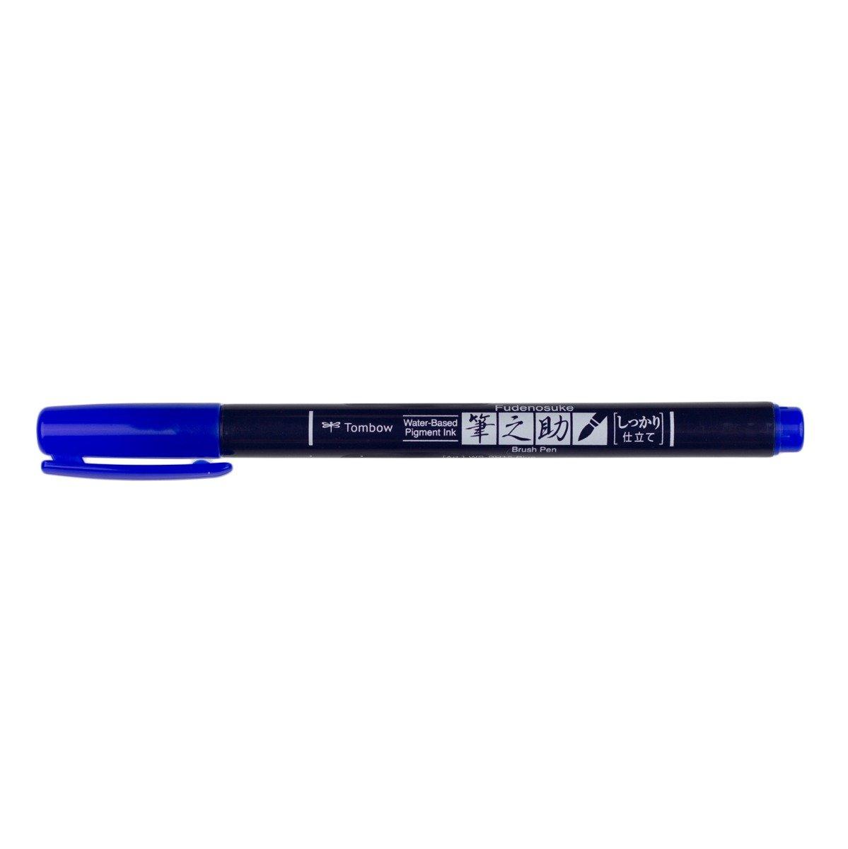 Fudenosuke Colors Brush Pen Blue 15