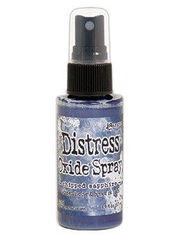 Tim Holtz Distess Oxide Spray 2oz Chipped Sapphire