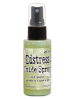 Tim Holtz Distess Oxide Spray 2oz Old Paper