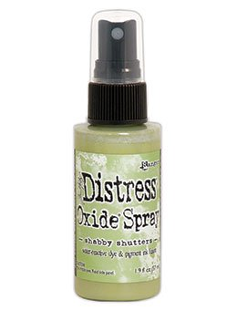 Tim Holtz Distess Oxide Spray 2oz Shabby Shutters