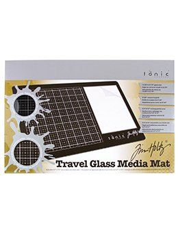 Tim Holtz Travel Glass Media Mat-RIGHT Handed