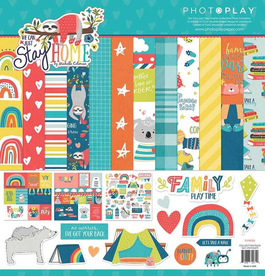 Photo Play We Can Just Stay Home Collection Pack
