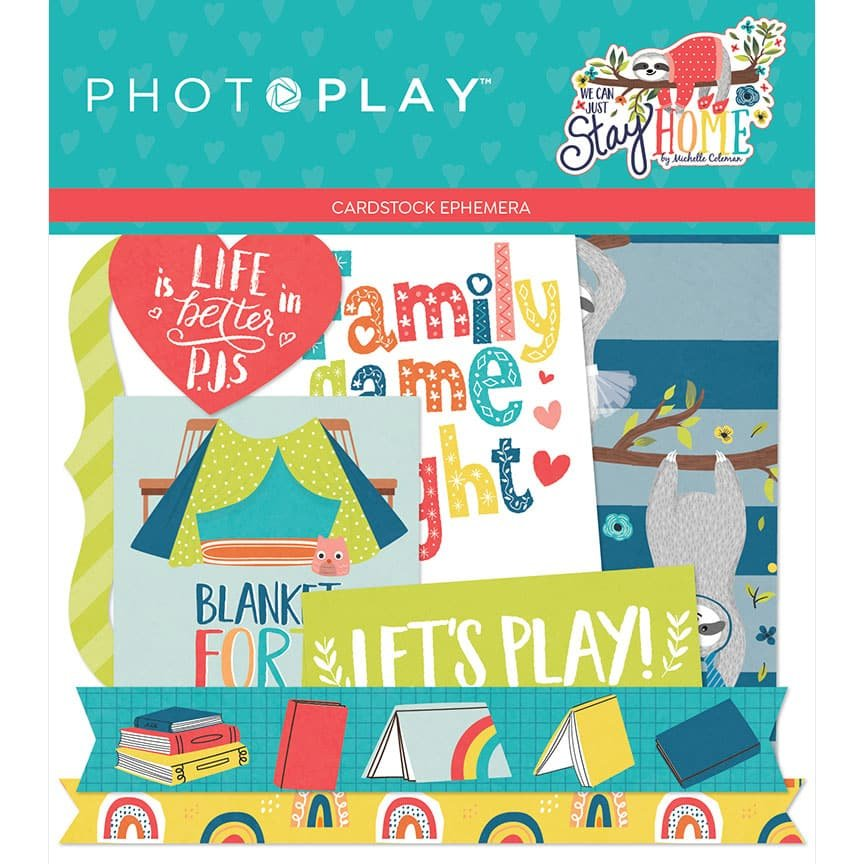 Photo Play We Can Just Stay Home Ephemera *pre-order*