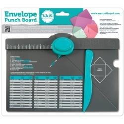 We R ENVELOPE Punch Board