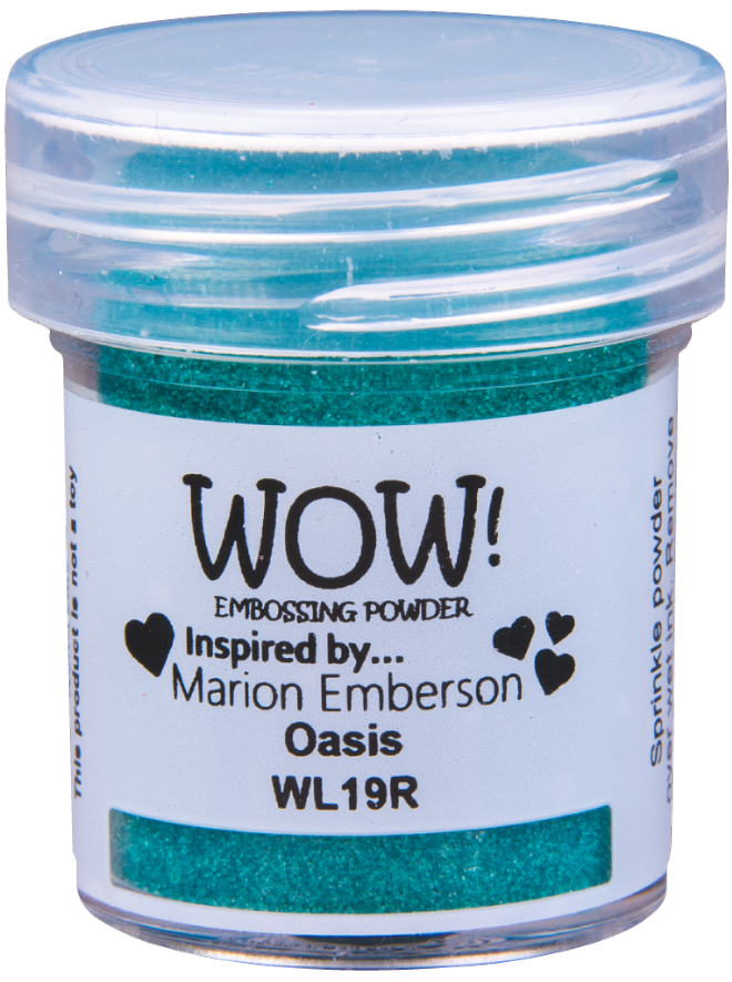 WOW! Embossing Powder 15ml Opaque Oasis