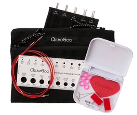 ChiaoGoo TWIST Red Lace MINI set 5  (US 000-1.5)