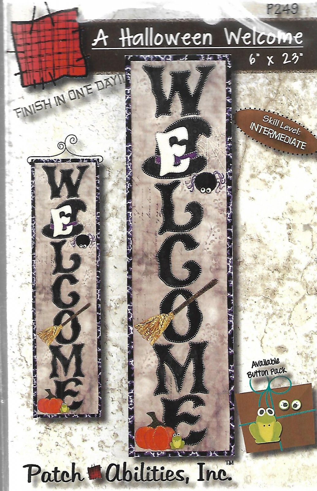 A Halloween Welcome P249 Plus button pack