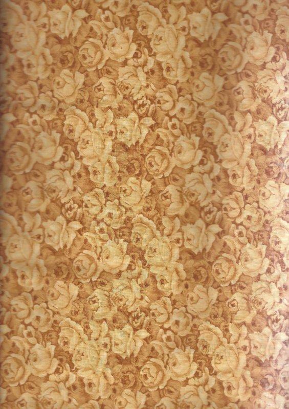 Cottage Rose 552-S Maywood Studio   100% Cotton Fabric