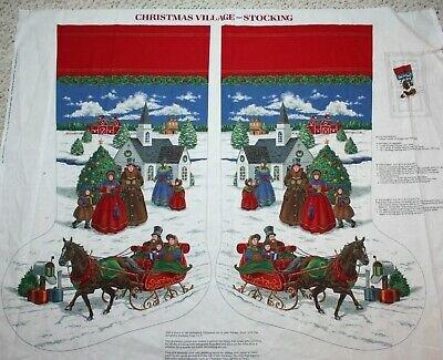 Christmas Village Stocking