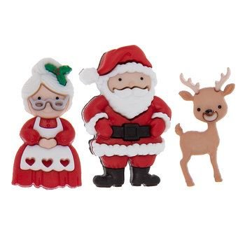 Mr & Mrs Santa Claus 5853932