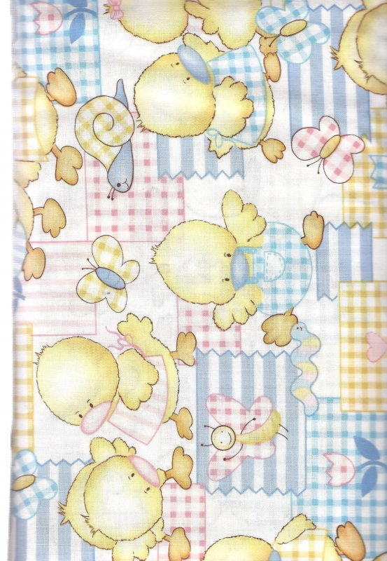 Baby Quackers Alexander Henry   100%  Cotton Fabric