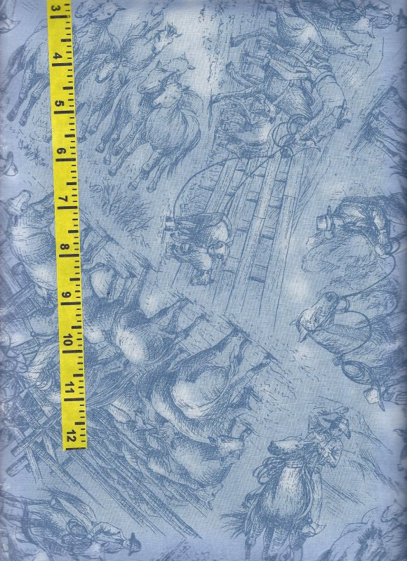 Red River III 9344002 RJR 100% Cotton Fabric
