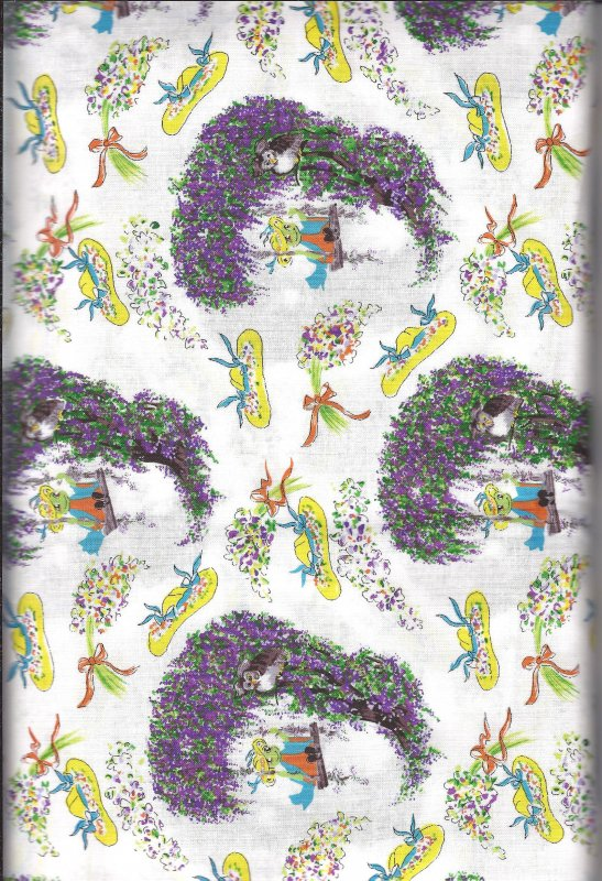 Katrinka Sweet Blossom  506 100% Cotton Fabric   Troy