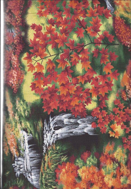 Enchanted Park Sunset ENCH-01 Kona Bay 100% Cotton Fabric