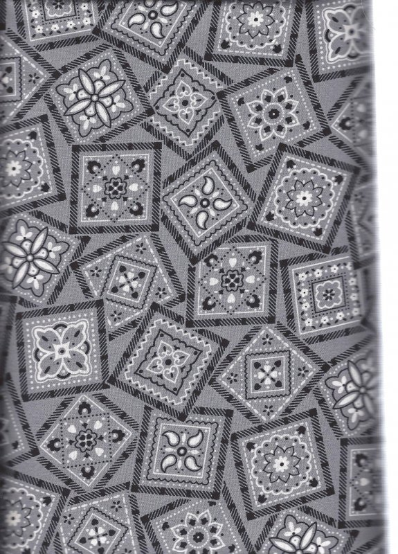 Best Bandannas 22260 K Quilting Treasures  100% Cotton Fabric